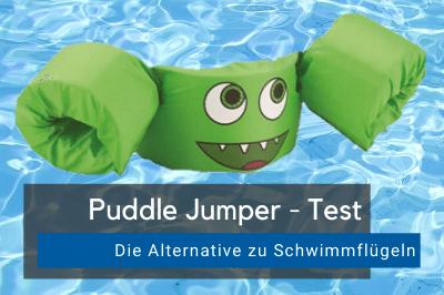 Schwimmhilfe Puddle Jumper Test
